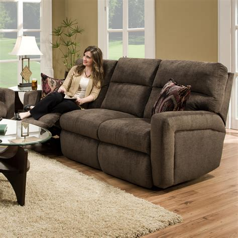 Southern Motion Reclining Sofa Inspire Double Reclining