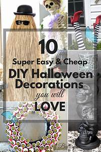 10, Super, Easy, U0026, Cheap, Diy, Halloween, Decorations, You, Will, Love, U00bb, Dreaming, Of, Butterflies