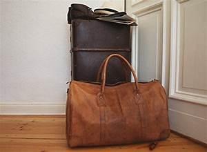 Reisetasche Aus Leder : vintage design weekender tasche leder braun weekender bag ~ Somuchworld.com Haus und Dekorationen