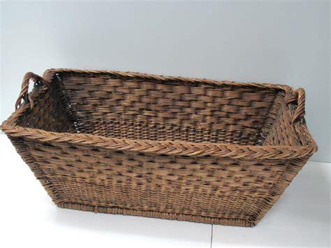 Woven Wicker Grape Picking Basket