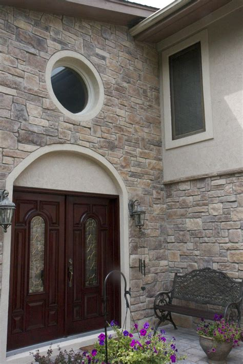 Update Your Home's Exterior With Stone Veneer  North Star