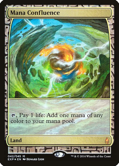 Mana Confluence · Zendikar Expeditions (EXP) #42 · Scryfall Magic: The Gathering Search