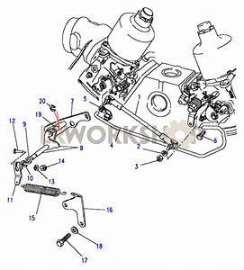 Throttle Linkage-su - V8 3 5l Carburetter