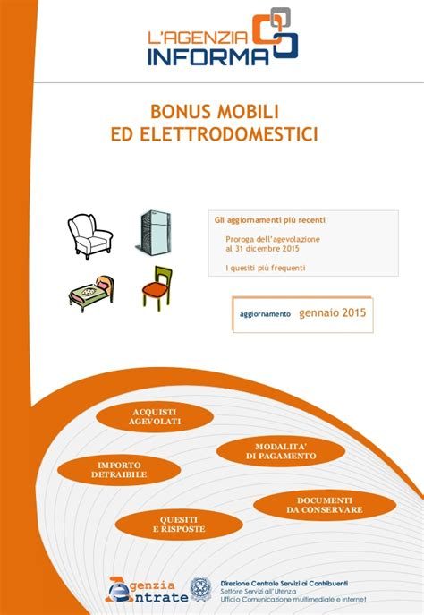 guida bonus mobili guida bonus mobili aggiornamento gennaio 2015