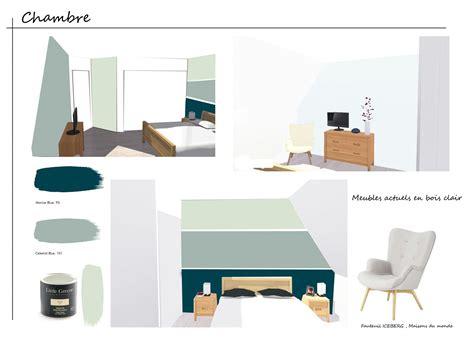 peinture chambre 2 couleurs couleur peinture greene l 39 atelier des couleurs