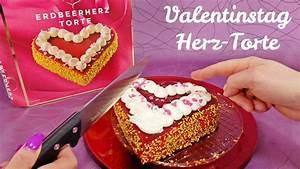 Valentinstag Kuchen In Herzform : valentinstag erdbeer herz torte im snack test youtube ~ Eleganceandgraceweddings.com Haus und Dekorationen