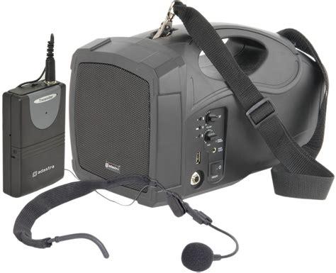 Adastra Complete Handheld Mobile Pa System Speaker