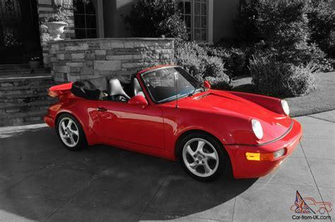 1984 Porsche 911 Turbo by 1984 Porsche 911 Turbo Look Cabriolet Convertible No