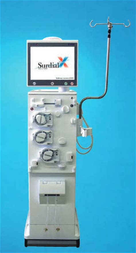 Mobile hemodialysis machine - SURDIAL-X - Nipro - with