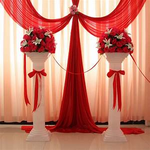 decorative wedding roman column height adjustable plastic With decorative plastic plates for wedding