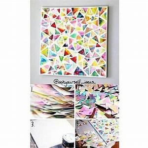 Malen Mit Wasserfarben : zeichenblock bl tter wild mit bunten wasserfarben bemalen wenn diese trocken sind die bl tter ~ Orissabook.com Haus und Dekorationen