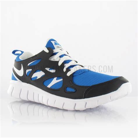 Nike Air Free Run 2 enfant GS bleu 443742407