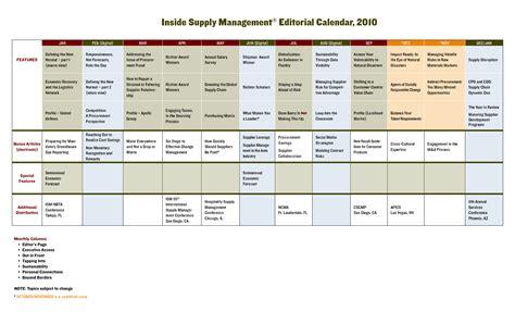 Editorial Calendar Template Editorial Calendar Template Cyberuse