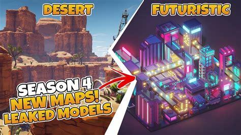 fortnite season  desert map futuristic map