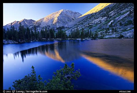 picturephoto reflections  lake  sunset kings canyon