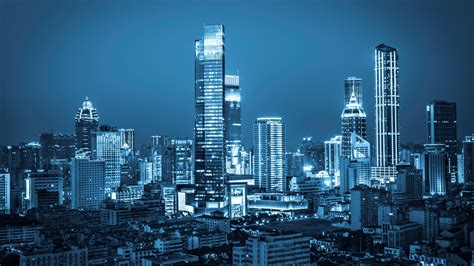 wallpaper city nightscape cityscape urban modern