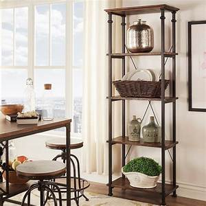 Myra, Ii, Vintage, Industrial, Modern, Rustic, Bookcase, By, Inspire, Q, Classic