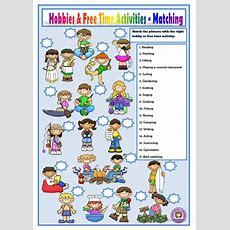 Hobbies And Free Time Activities Worksheet  Free Esl Printable Worksheets Made By Teachers