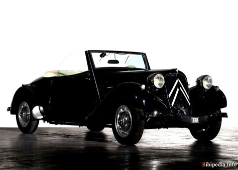 Citroen Traction 15 Cabriolet 1939 On Motoimgcom