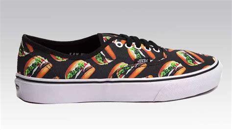 vans food hamburger cheeseburger pack shoes soleracks converse