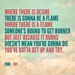 ... lyrics song lyrics try pink lyrics | Song Lyrics | Pinterest | Get Up