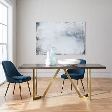 West Elm Dining Room Tables by Tower Dining Table Mineral West Elm