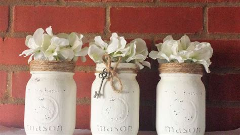 beautiful rustic mason jars diy crafts
