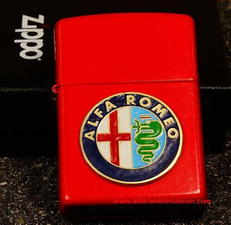 [ Gift ] Zippo Lighter  Alfa Romeo Model Car Museum