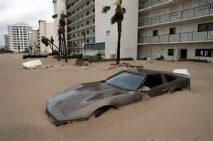 Hurricane Storm Surge Damage