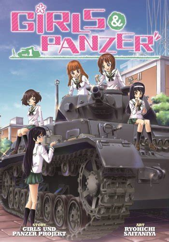 girls und panzer manga anime planet