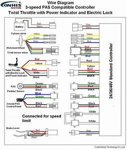 Speed Fan Motor Wiring Diagram Also E Bike Throttle New