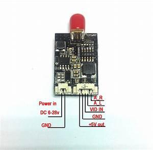 Aomway 5 8g 32ch 600mw Mini A  V Transmitter  Vtx