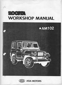 Asia Rocsta Workshop  Service Manual