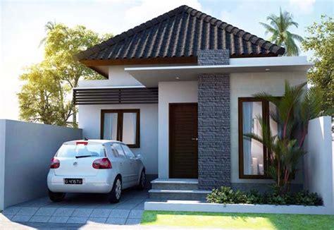 inspirasi desain rumah minimalis  lantai sederhana