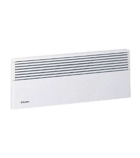 Radiant Bathroom Wall Heaters Electric by Dimplex Evs075 0 75kw Thermostatic Slimline Low Profile