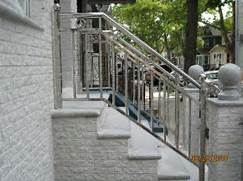Outdoor Metal Handrails For Stairs by Handrails For Stairs Ideas With Various Of Style That Can Add The Attractiven