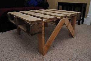 pallet coffee table all With easy to build coffee table