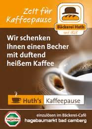 Becher Bad Camberg : gutschein f r neues huth b ckerei caf im hagebaumarkt bad camberg b ckerei huth ~ Eleganceandgraceweddings.com Haus und Dekorationen