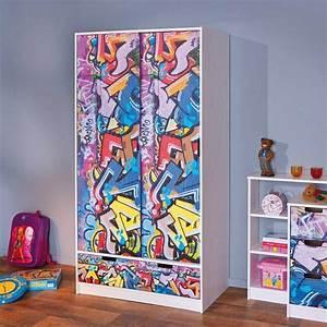Graffiti Für Kinderzimmer : kinder kleiderschrank tivira im graffiti design ~ Sanjose-hotels-ca.com Haus und Dekorationen