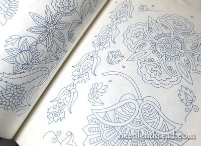 embroidery iron  transfer book tres nice needlenthreadcom