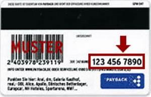 Pay Back Karte : wo finde ich meine payback kundennummer fragen hilfe bei payback ~ Orissabook.com Haus und Dekorationen