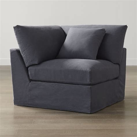 slipcover only for lounge ii corner contemporary