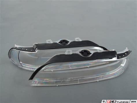 ecs news bmw e39 clear headlight lens covers