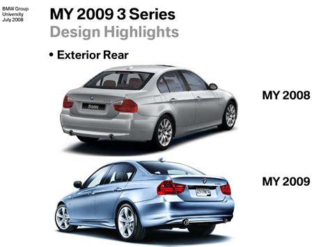 2008 Bmw 3 Series Vs 2009 3 Series Facelift