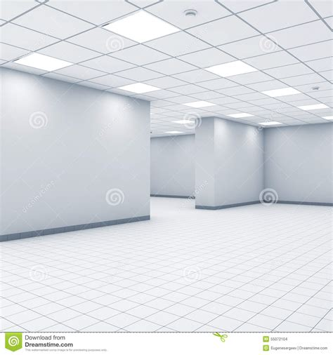 bureau vide fond de l 39 espace ouvert bureau vide abstrait illustration