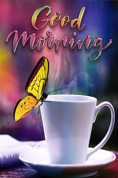 Send a gif via whatsapp, facebook. GOOD MORNING ♡♥️♡ in 2020   Good morning greetings, Good morning wishes gif, Good morning coffee ...
