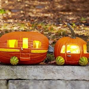 Caravan, Pumpkin, -, The, Coolest, Halloween, Pumpkin, Carving, Ideas