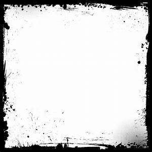 Grunge Border Background Vector | Free Download