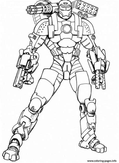 iron man armored adventures seed coloring pages printable