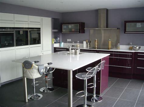 plans cuisine ouverte cuisine ouverte haute de gamme plan de travail et ilot